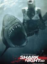 鲨鱼惊魂夜3D/大白鲨3D
